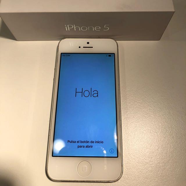《iPhone5》銀色16G