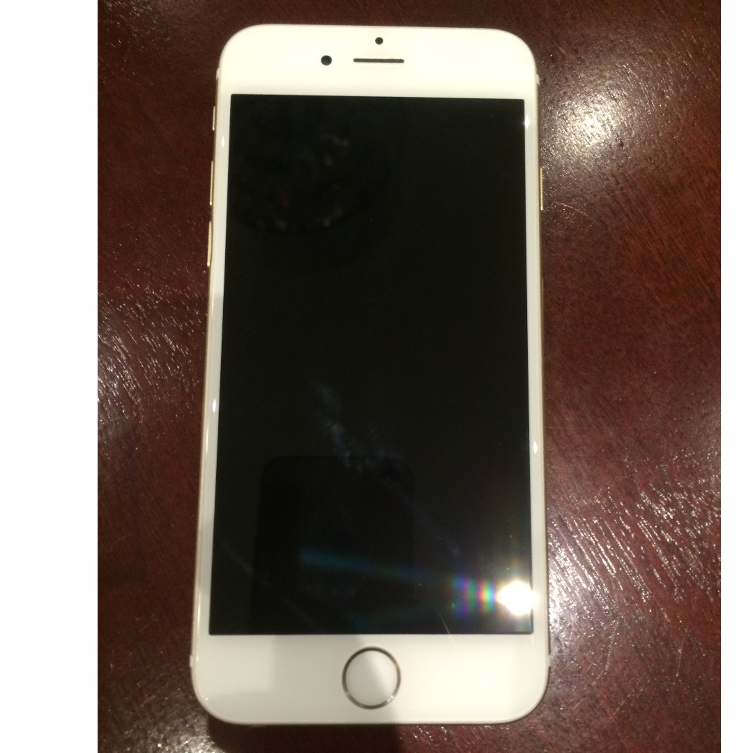 iPhone 6 128gb gold like new condition
