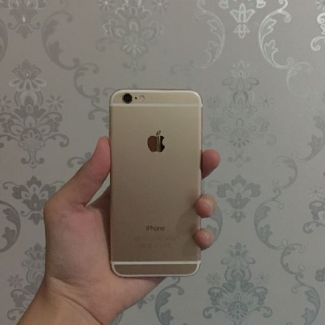 Iphone 6g Gold