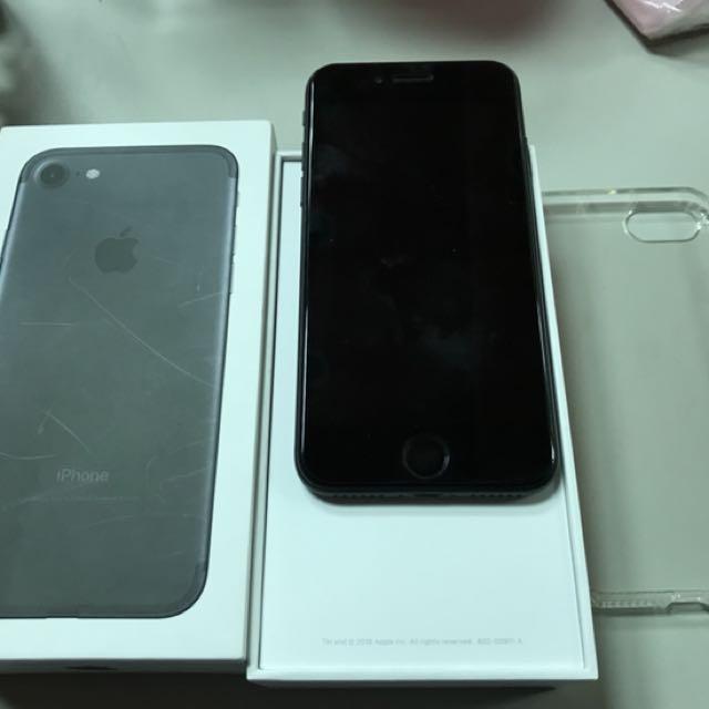 iPhone 7 256消光黑