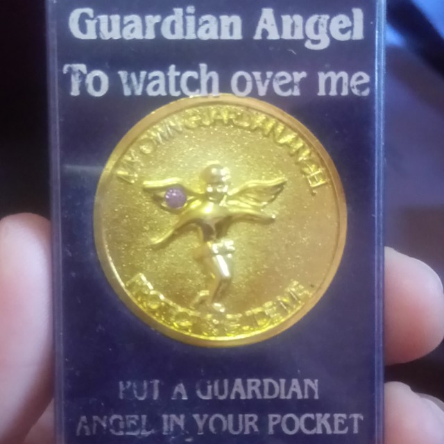 June Birthstone Guardian Angel Coin