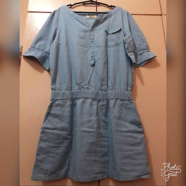 Kaporai Soft Denim Dress Size XL
