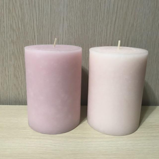 KIEA香氛蠟燭🌸花香 一組