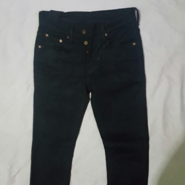 Ksubi skinny jeans hitam