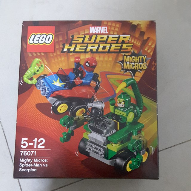 Lego Mighty Spider 76071 Scorpion Heroes Building Micros Super Kit roEdWBCxQe
