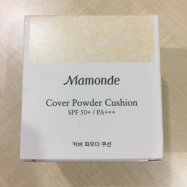 Mamonde Cover Powder Cushion with Refill