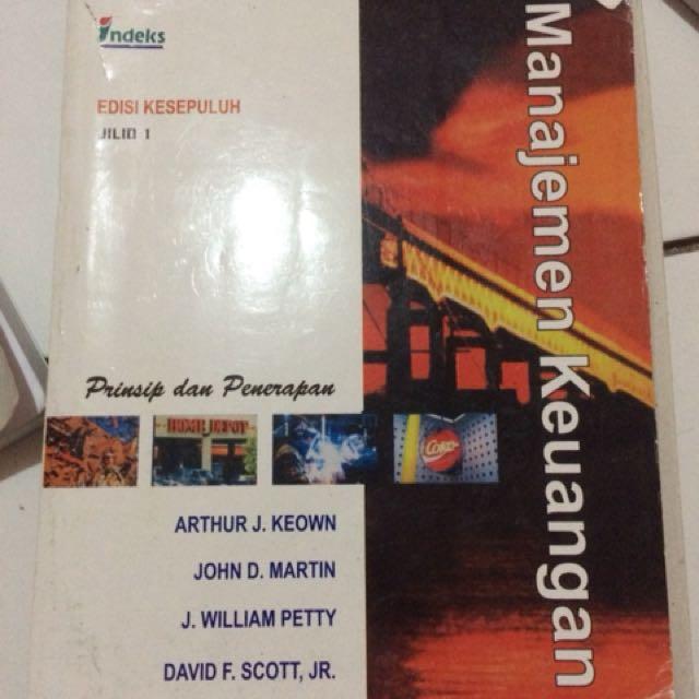 Manajemen keuangan edisi kesepuluh