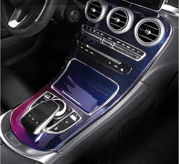 Mercedes Glc Center Console Cover Chameleon Car Accessories On