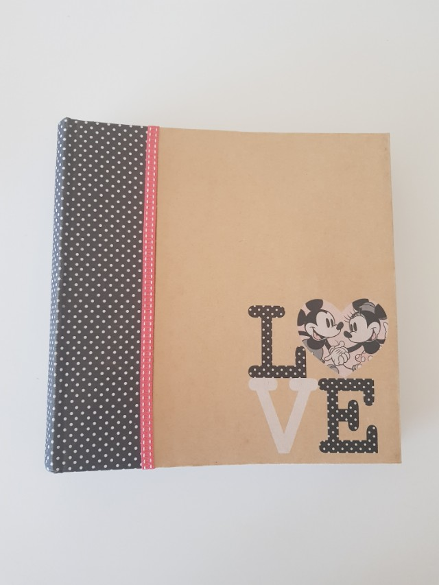Mickey and Minnie Mouse Photo Album