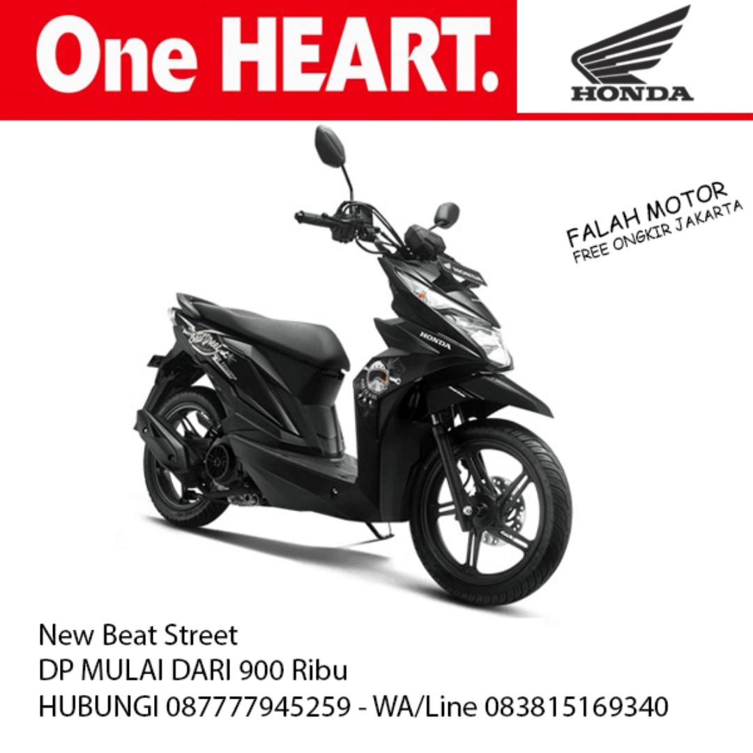 New Honda Beat Street Kredit Motor Jadetabek Motorbikes On Carousell