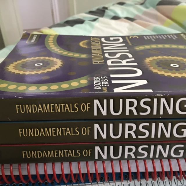Nursing and physiology books