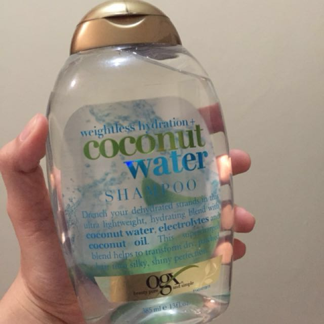 OGX Coconut Water Shampoo (REPRICED)