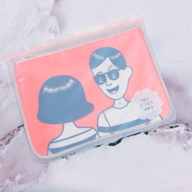 韓國Ooh La La萬用包 收納包 鉛筆包 手拿包