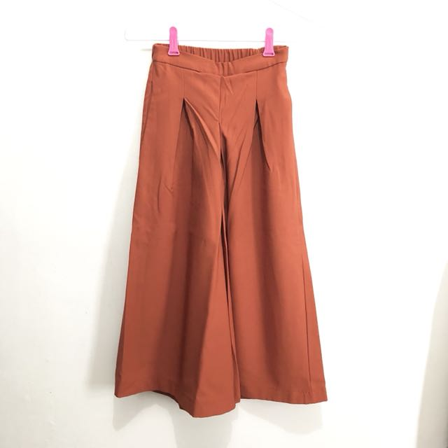 Orange Import Cullotes || kulot import kulot premium import pants celana panjang celana kulot murah import