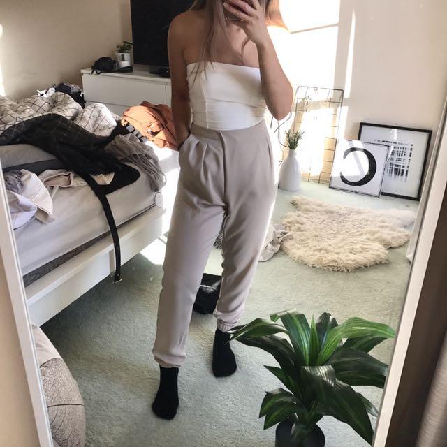 Pastel Grey/Lilac Pants