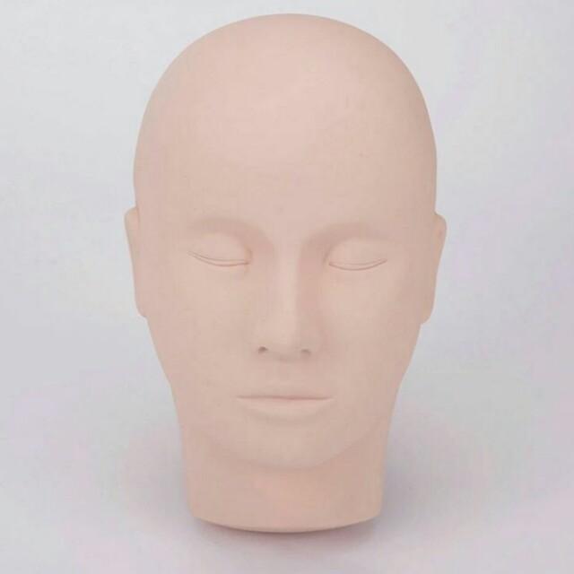 Patung manekin dummy eyelash extention