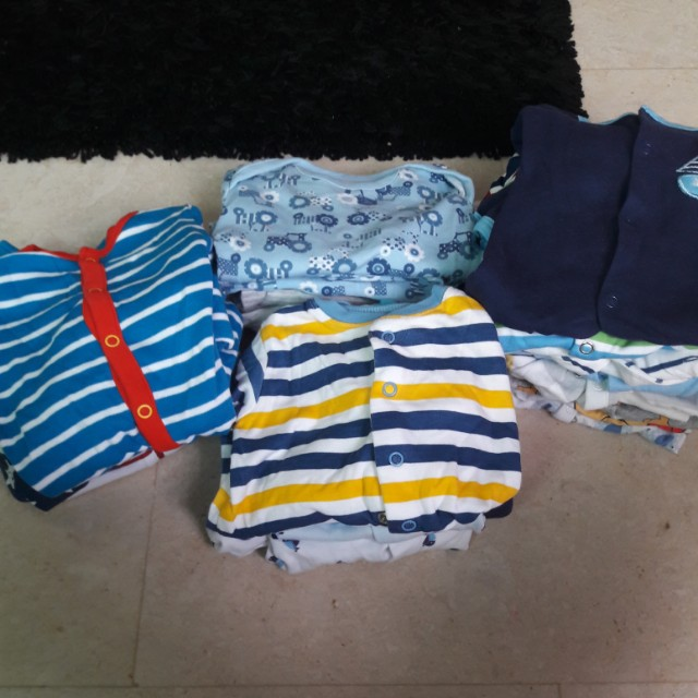 Pl Sleep Suits Bundle For Baby Boy Babies Kids Babies Apparel On