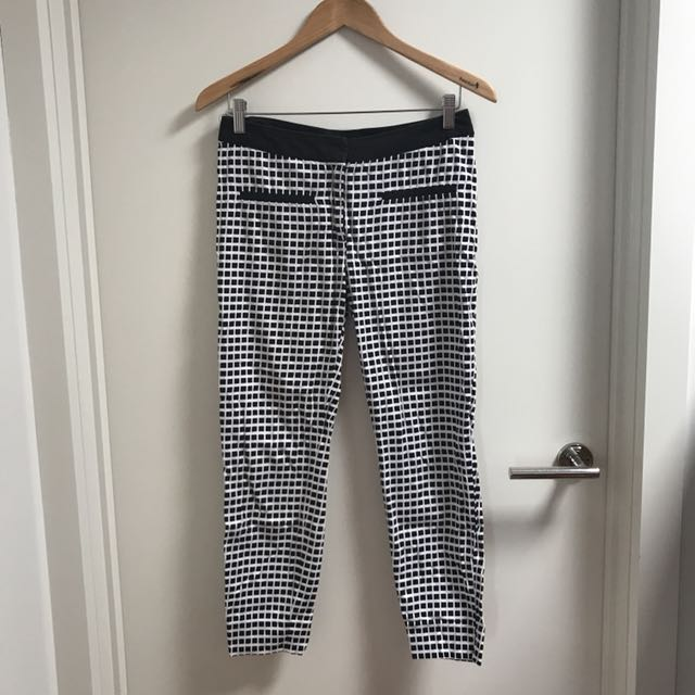 Portmans checkered work pants