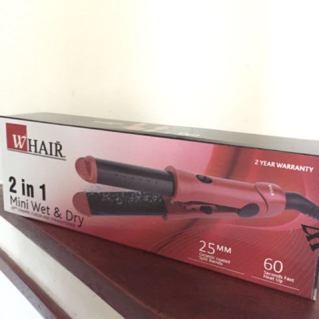 SALE 🔻 HAIR STRAIGHTENER - 2 in 1 WET and DRY