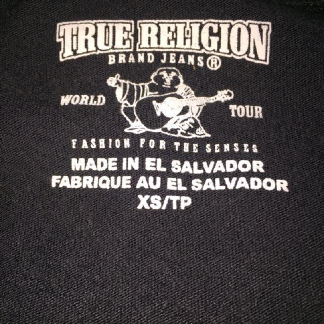 SALE Authentic True Religion Tshirt(REDUCED PRICE)