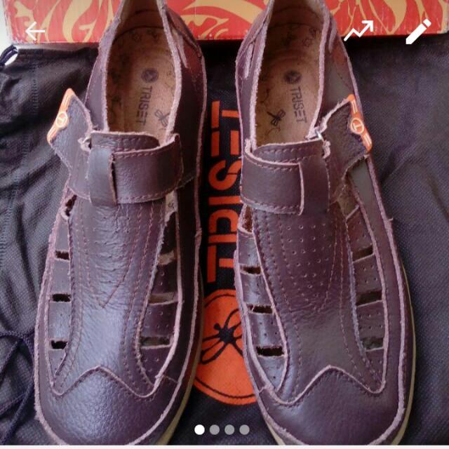 Sepatu Kulit Asli Triset