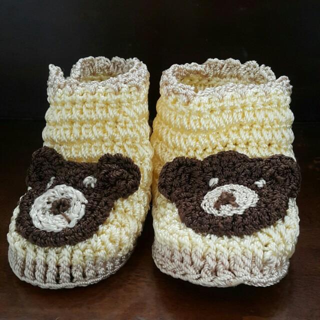 Sepatu rajut bayi anak