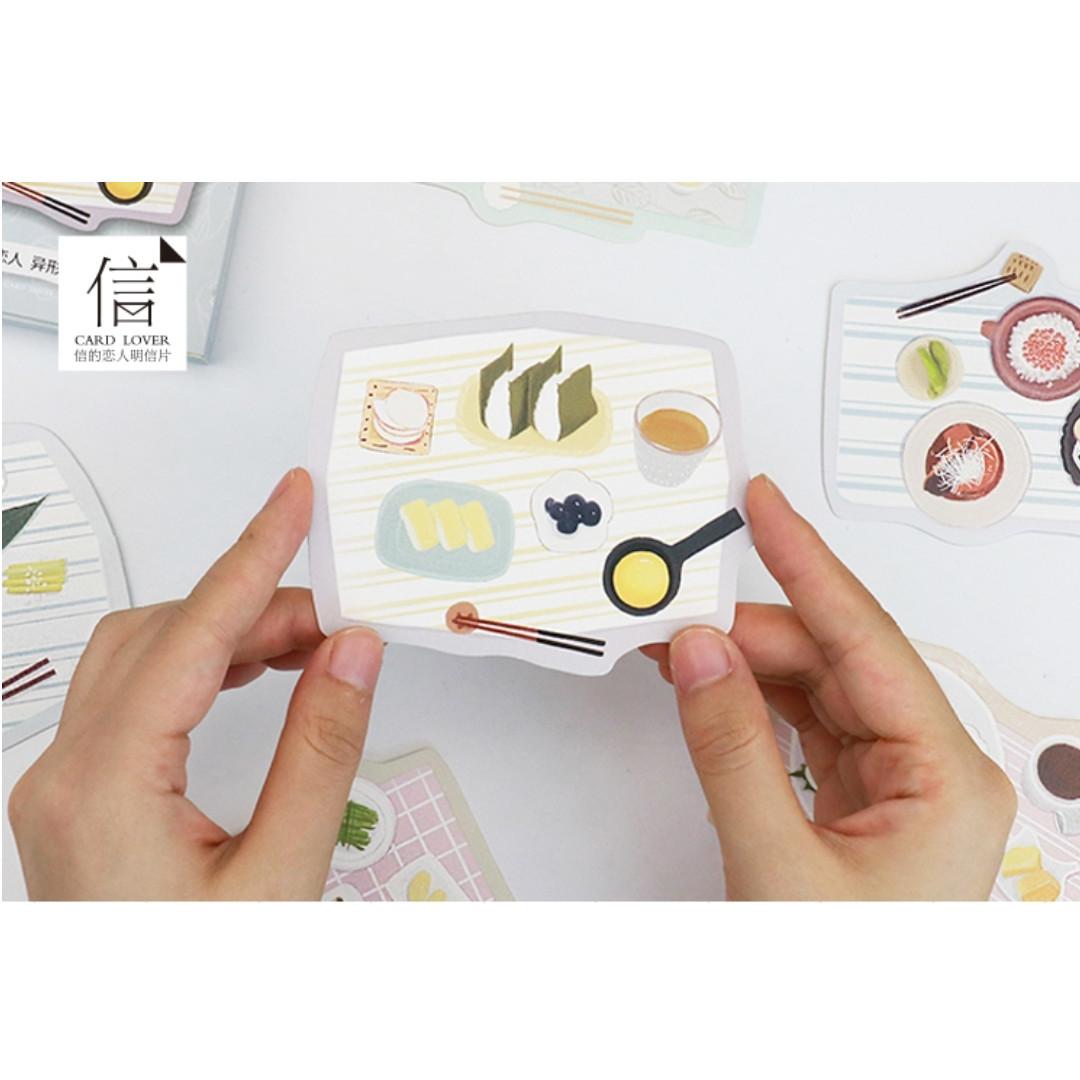 Set Meal Postcards