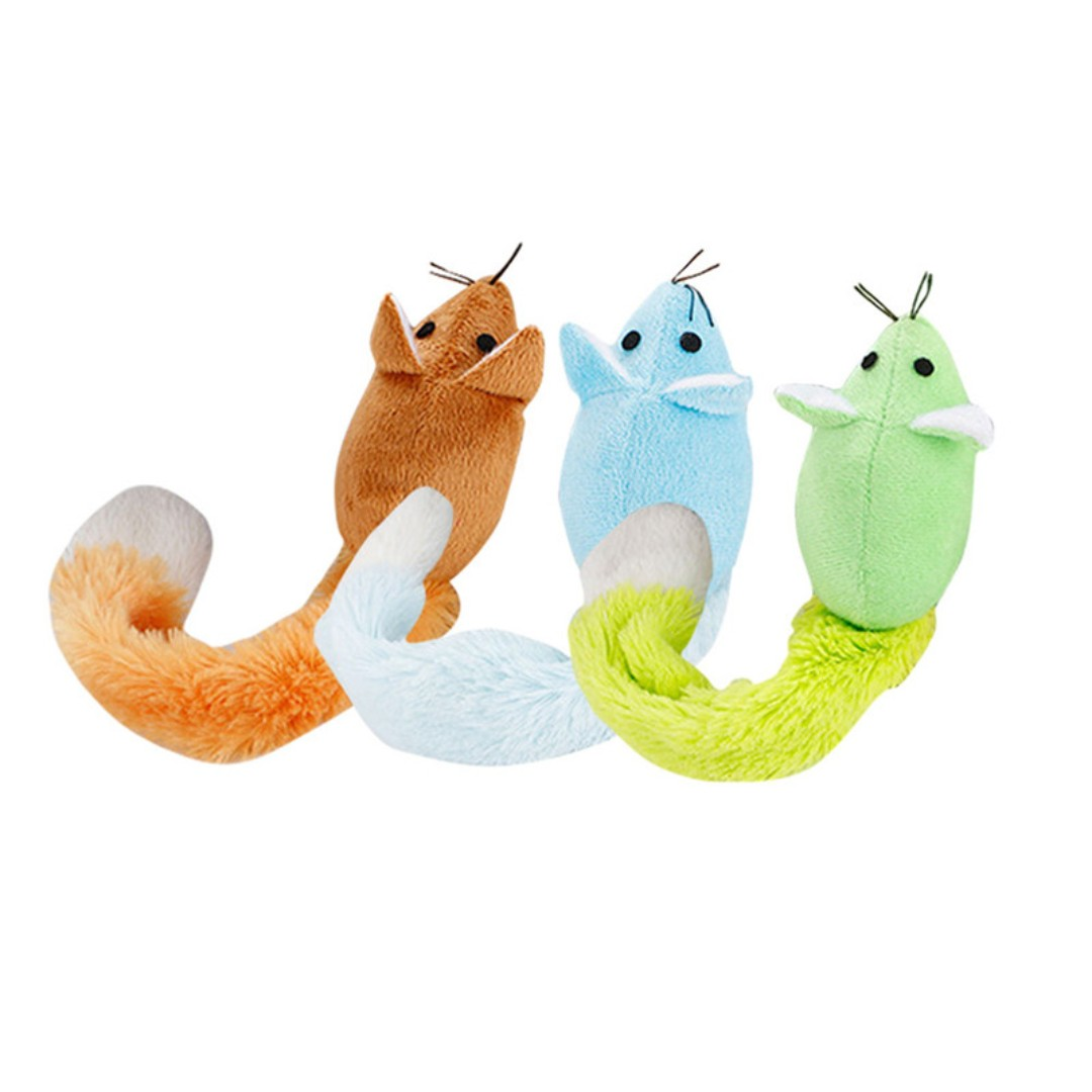 SOFT TOYS LONG TAIL MOUSE