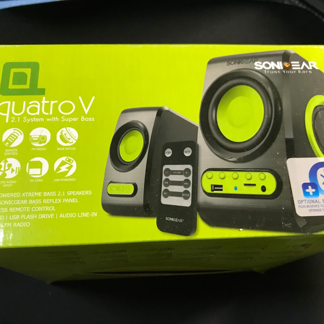 Sonicgear Quatro 2 0 Grey Usb Speaker With Volume Control Daftar Super Loud 20 By Red V