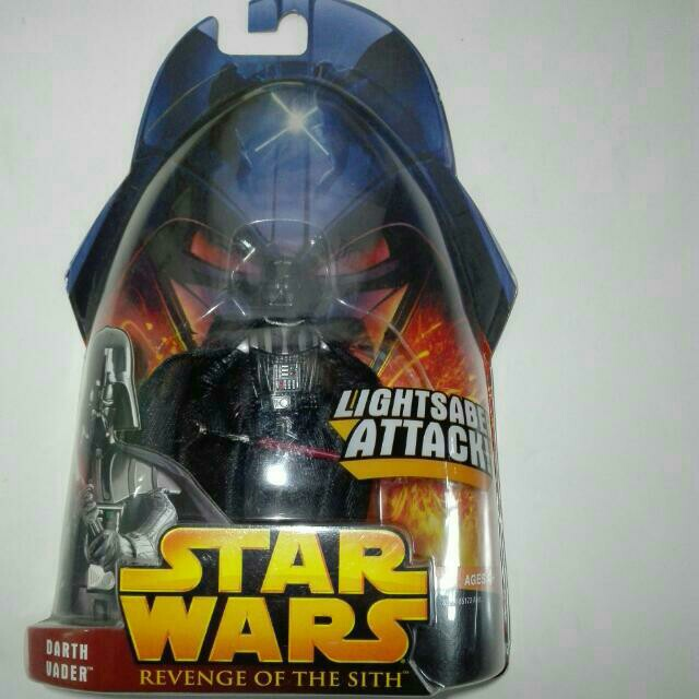 """New Star Wars 2005 Darth Vader Revenge Of The Sith ROTS 3.75/"""" Action Figure Toy"""