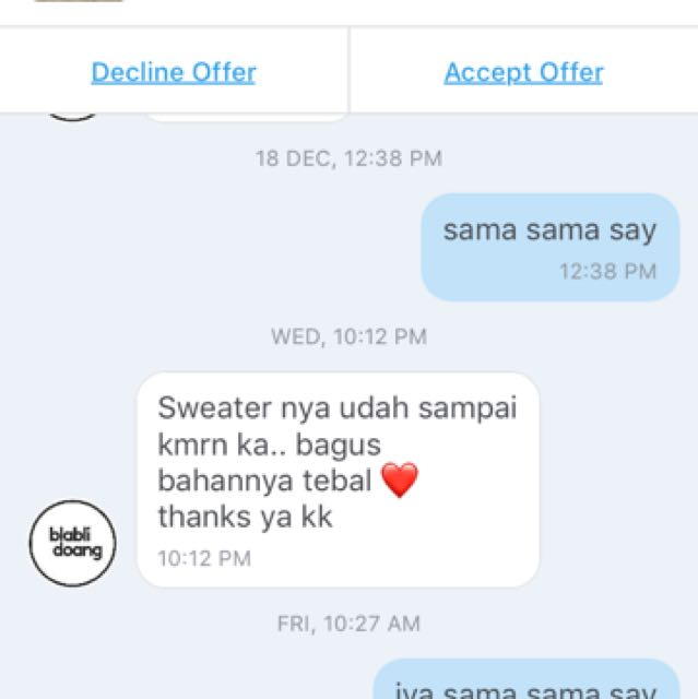 testi from my customer