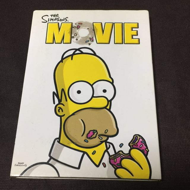 The Simpsons Movie Dvd Music Media Cds Dvds Other Media On Carousell