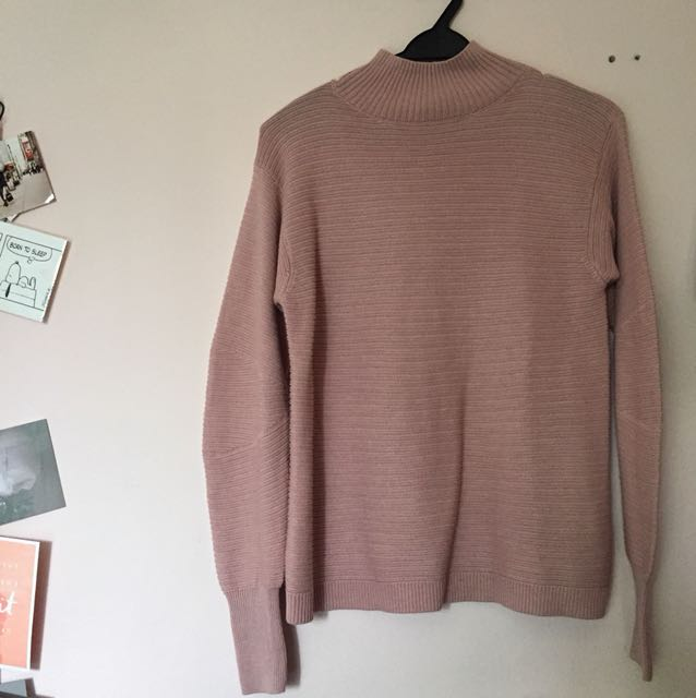 Topshop Pink Knitted Top