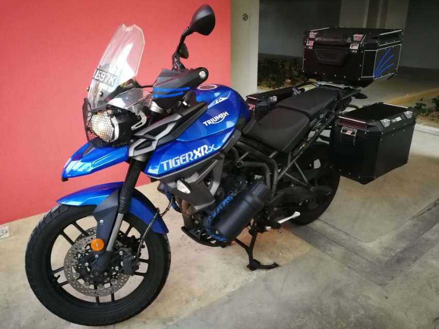Triumph Tiger 800 Xrx Motorbikes Motorbikes For Sale Class 2 On