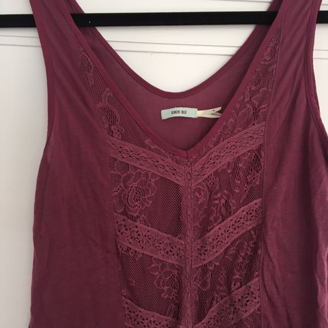 Urban Outfitters lace tank