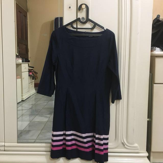 Valino Donna Navy Dress