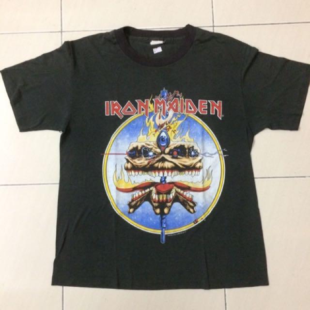Vintage Iron Maiden 1988 Copyright