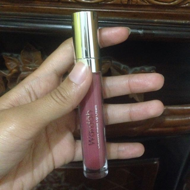 WARDAH LIP CREAM PINKY PLUMISE