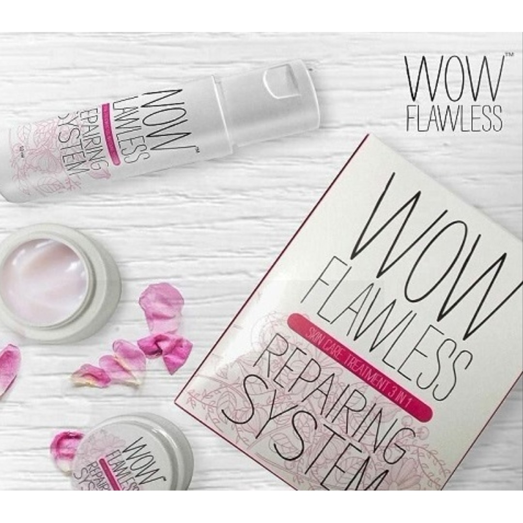 WOW Flawless Repairing System Skin Treatment