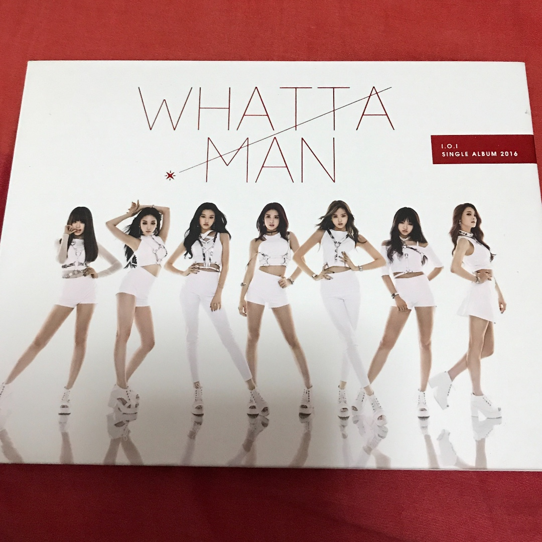 WTS I.O.I Whatta Man unsealed album