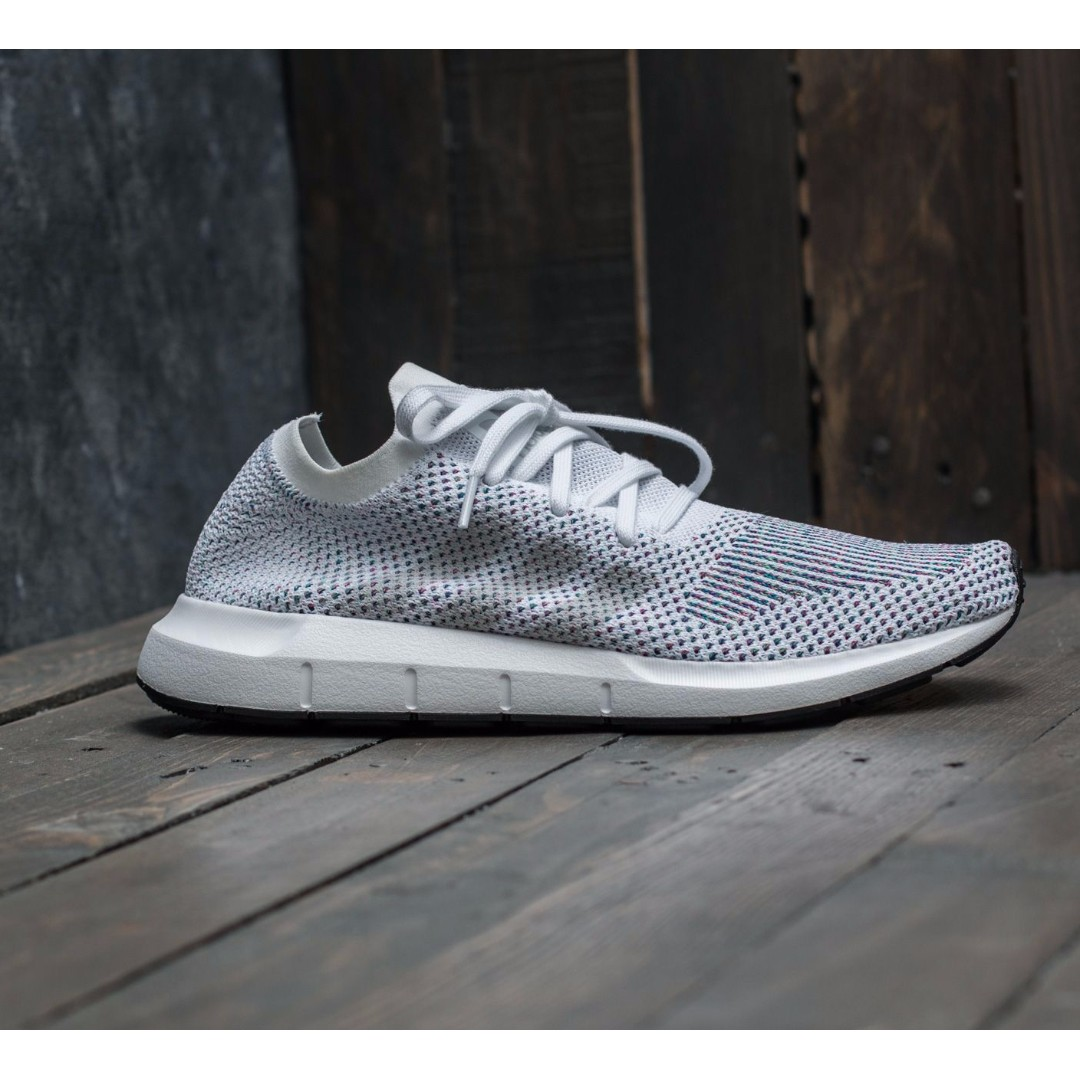 255ea2ea769 (XMAS SALE) ADIDAS ORIGINALS SWIFT RUN PRIMEKNIT SHOES – FOOTWEAR  WHITE/GREY ONE/CORE BLACK
