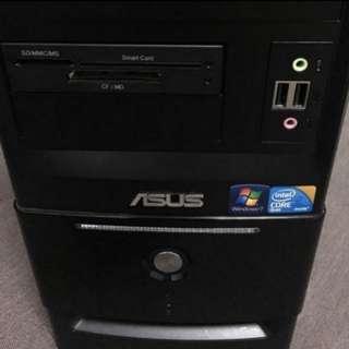 #年前清倉特價# 華碩 四核心 文書電腦 桌上型電腦 ASUS PC