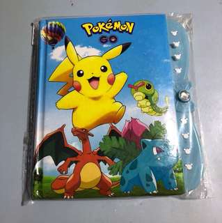 Pokémon Go notebook