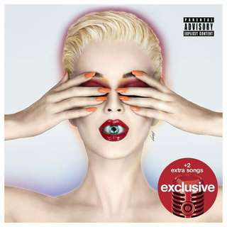 Witness by Katy Perry Target Exclusive Audio CD