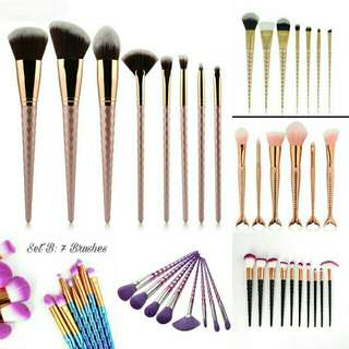 End Year Clearance Makeup Brushes