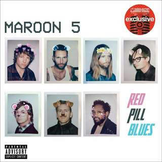 Red Pill Blues by Maroon 5 Target Exclusive Audio CD