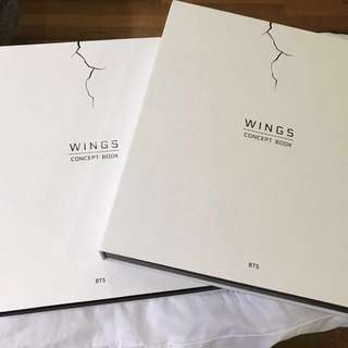 BTS WINGS CONCEPT BOOKS