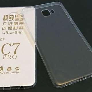 Samsung C7 / C7 Pro 透明手機軟膠套