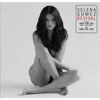 Revival by Selena Gomez Deluxe Edition Audio CD