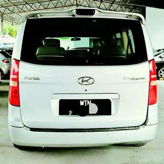 Hyundai Starex TQ 2.5L (A) CRDI Sambung Bayar / Car Continue Loan